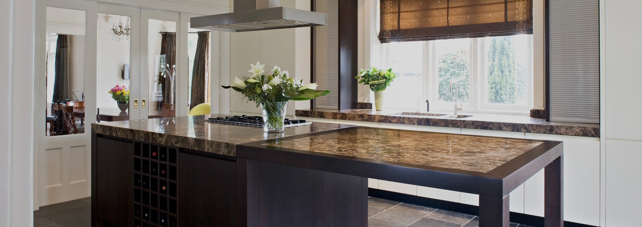 moderne keuken living kitchen